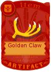 Golden claw