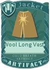 Wool Long Vest 4 Mint