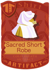Sacred Short Robe golden