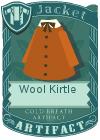 Wool kirtle brown