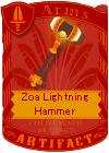 Zoa Lightning Hammer