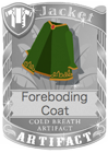 Foreboding Coat Green