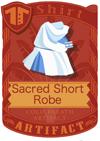 Sacred Short Robe blue