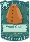 Wool coat mint