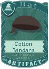 Cotton Bandana Black