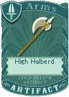 High Halberd