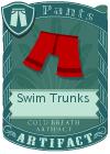 Swim Trunks Red