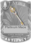 Platinum Mace