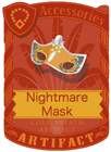 NIghtmare Mask Silver