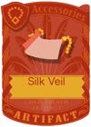Silk Veil Red