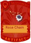 Rose Chain Purple