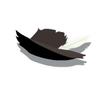Black Cavalier Hat