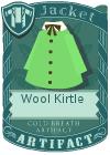Wool kirtle green