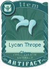LycanThropeClaw