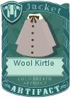 Wool kirtle grey