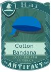 Cotton Bandana Blue