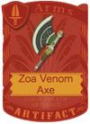 Zoa Venom Axe