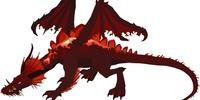 Towering Red Dragon