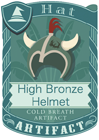 High Bronze Helmet 2