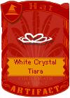 White Crystal Tiara