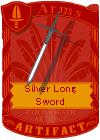 Silver Long Sword