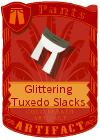 Glittering Tuxedo Slacks