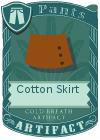 Cotton Skirt Mint