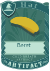 Beret Yellow