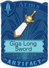 Giga Long Sword White