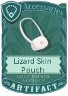 Lizard Skin Pouch