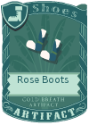 Rose Boots Blue