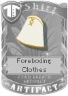 Foreboding Clothes White