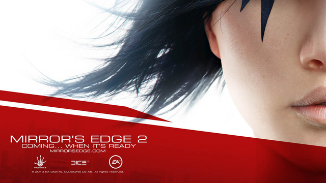 File:Mirror's Edge 2 - Coming... when it's ready.png