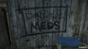 Graffiti -Dont Take Meds