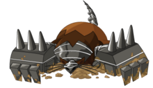 Dark moledozer back