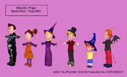 Line up halloween