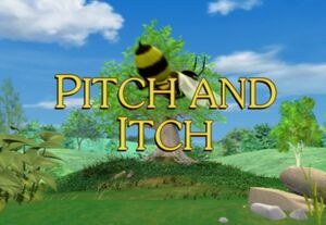 Sunny Patch Pitch and Itch Title