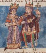 Stuttgarter Psalter Cod.bibl.fol.23, p118, Bl.57v