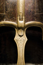 Treasures from Medieval York - The York Helmet (crest detail)