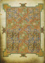 Lindisfarne Gospels, fol.026v RdgA Bd3, Taf.010, Abb.006