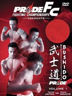 Pride Bushido 1 DVD cover