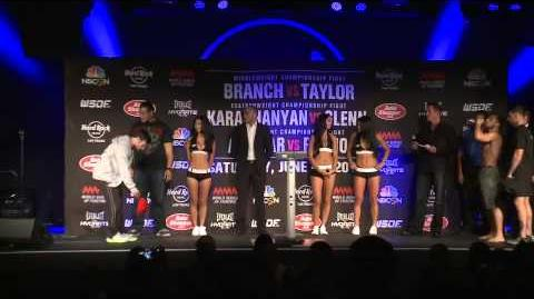 WSOF10 Official Weigh-Ins