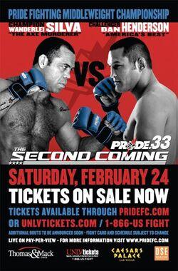 Pride 33 event poster