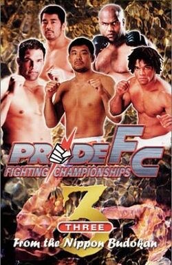 Pride 3 DVD cover