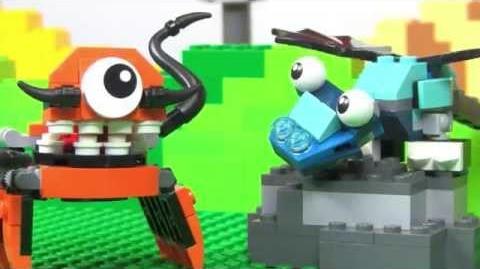 LEGO® Mixels - Kraw & Flurr Mix!