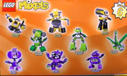 Mixels series 6 pose