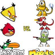 Angry birds vs. mixels