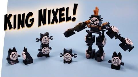 LEGO Mixels King Nixel Congregated Combiner Build Instructions Review