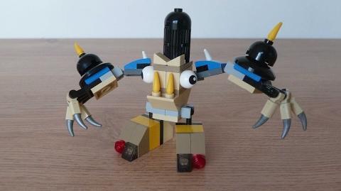LEGO MIXELS MYKE HOOGI MIX or MURP? Instructions Lego 41580 Lego 41523