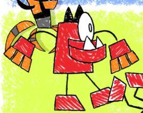 Vulk doodle
